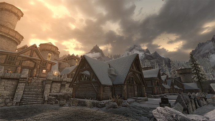Rustic Weathers and Lighting in Skyrim
