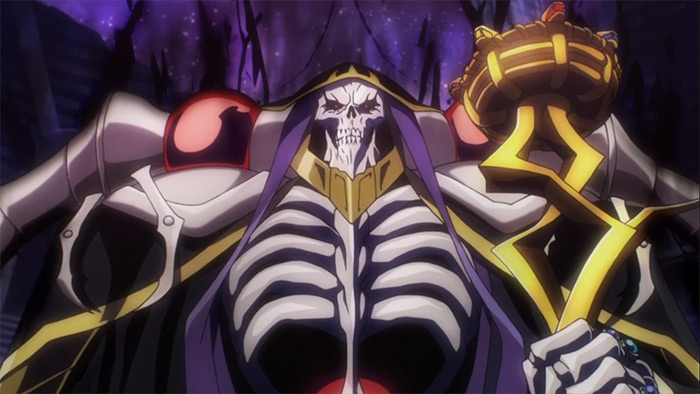 Overlord fantasy anime