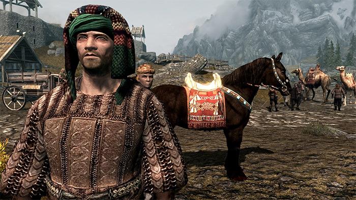 Redguards in Skyrim