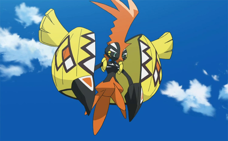 Tapu Koko from the anime