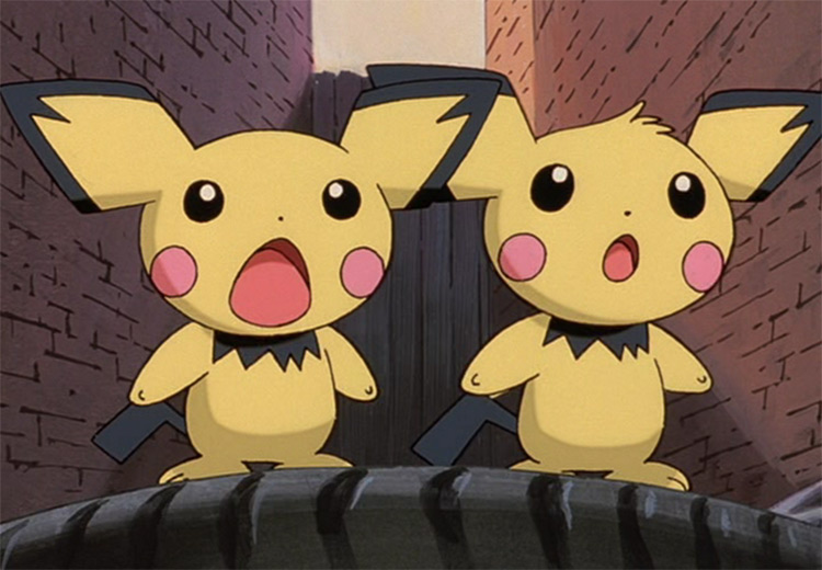 Pichu in Pokemon anime