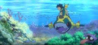 Underwater in Alola with Sharpedo & water pokemon