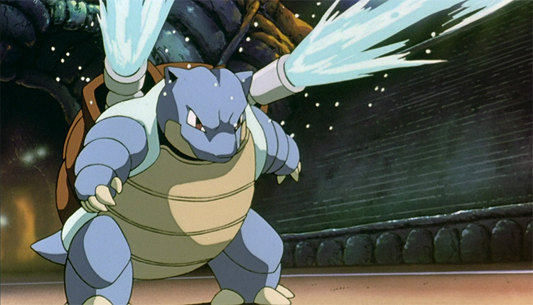 Blastoise from the anime