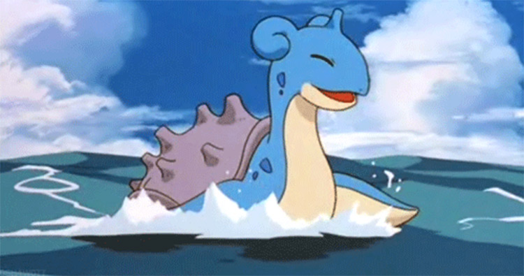 Lapras Pokemon anime