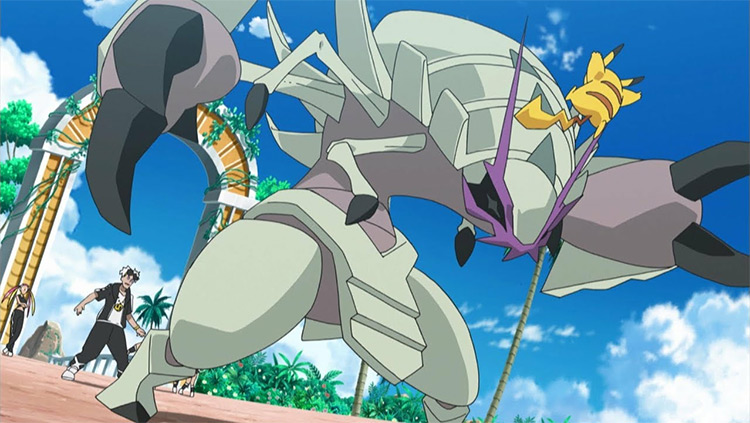 Golisopod in the anime