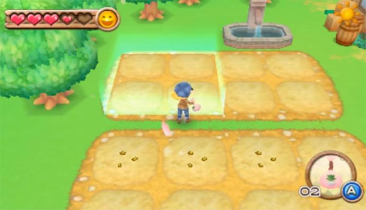 Harvest Moon 3D: A New Beginning screenshot