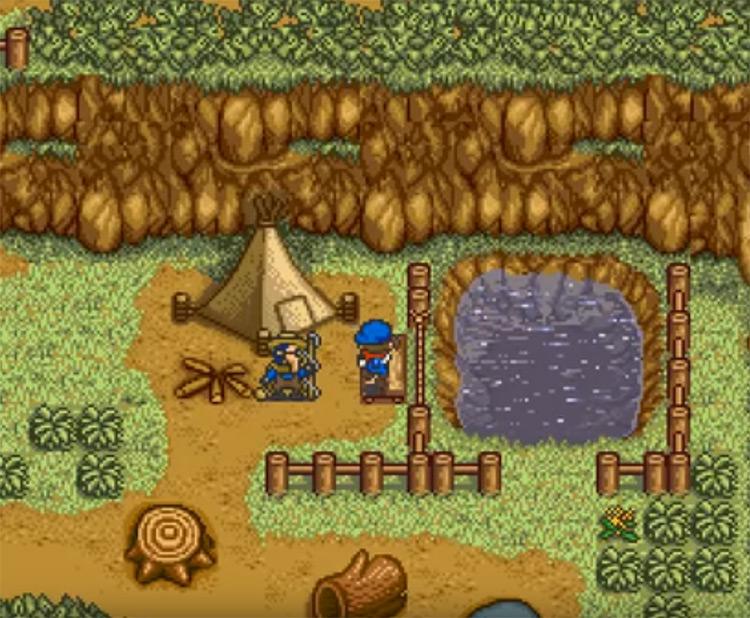 Harvest Moon SNES screenshot