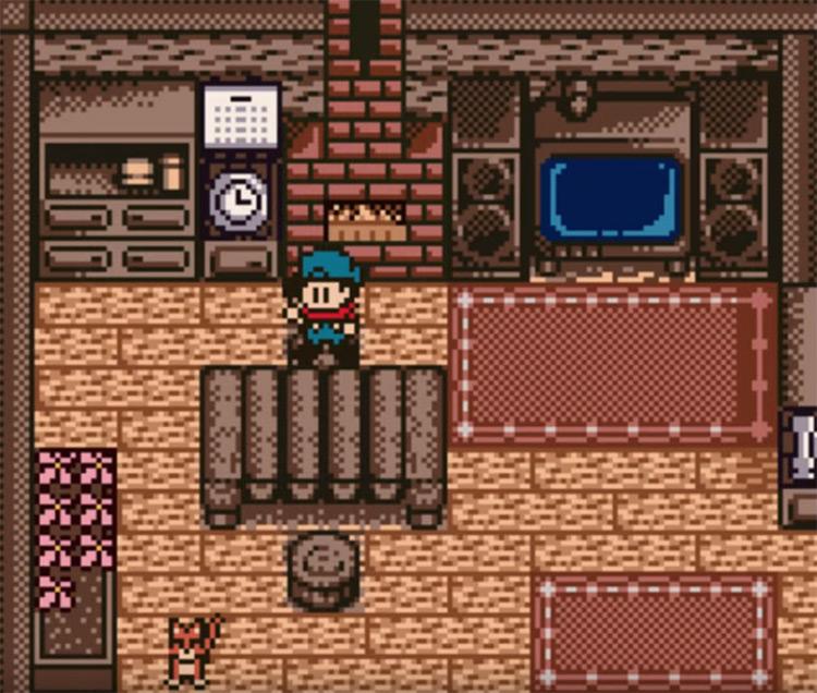 Harvest Moon 3 GBC screenshot