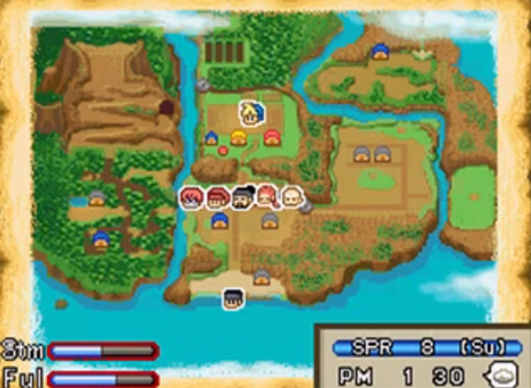 Harvest Moon DS Island of Happiness screenshot