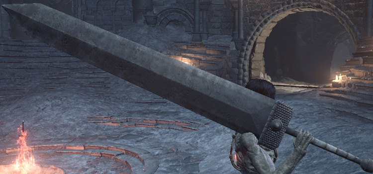 Astora Greatsword used in Dark Souls 3