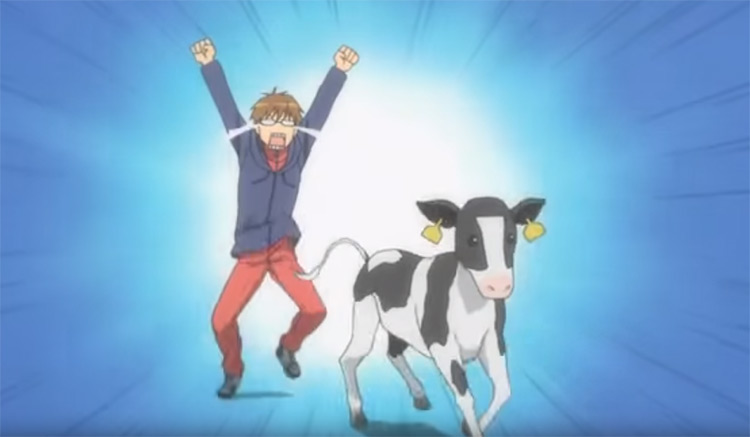 Silver Spoon anime screen