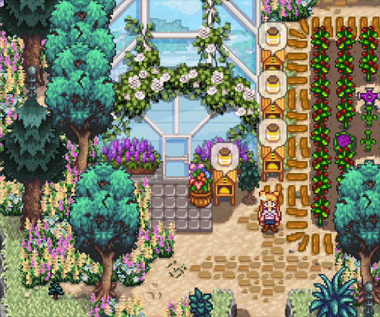 Sailor Moon Hairstyles, Clothing, and Kimono Stardew Valley mod
