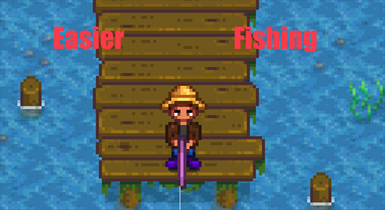 Easier Fishing Stardew Valley mod screenshot