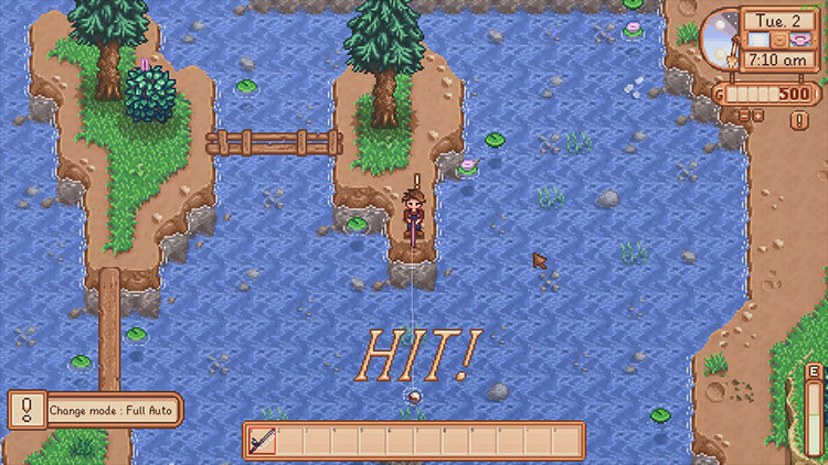 Fishing Assistant Stardew Valley mod