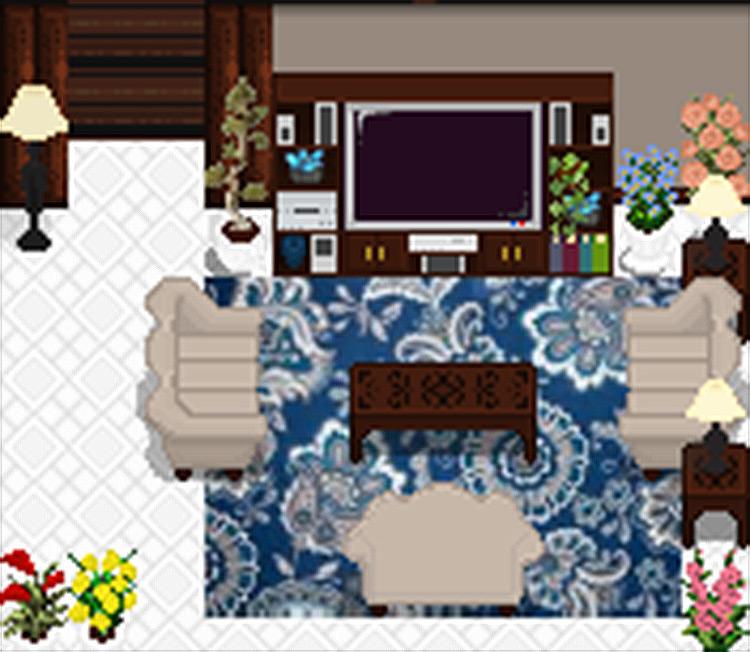 Living Room Stardew Valley mod screenshot