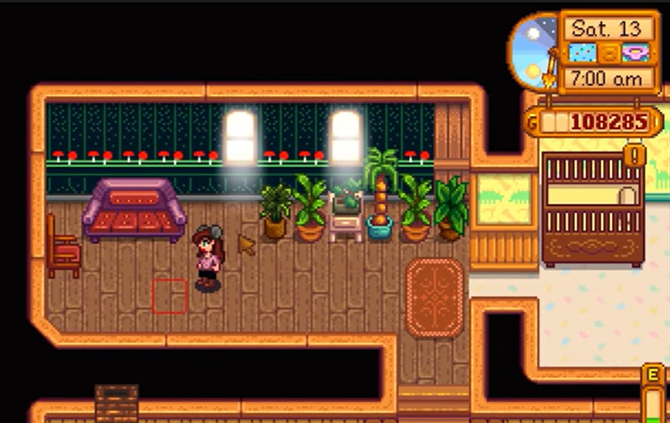 House Plants mod for Stardew Valley