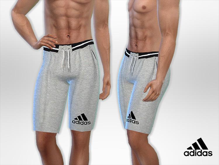 Adidas Male Shorts Sims 4 CC screenshot