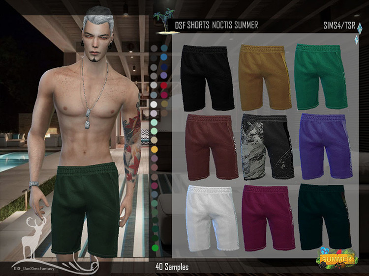 DSF Shorts Noctis Sims 4 CC