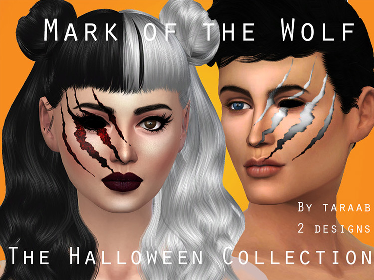 Mark of the Wolf Sims 4 CC screenshot