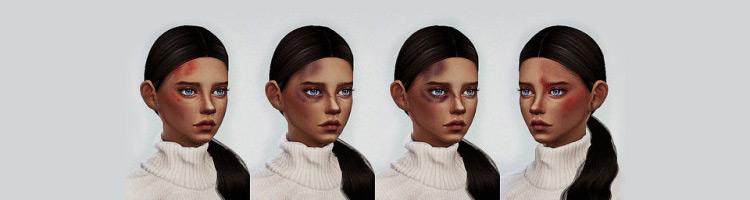 Bruises from Crash Sims 4 CC screenshot