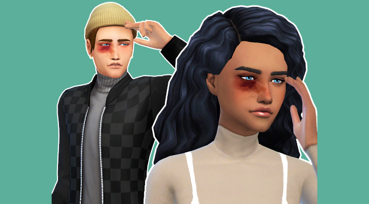 Black Eye - Sims 4 CC