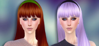 Cute headbands CC for girls - TS4 preview