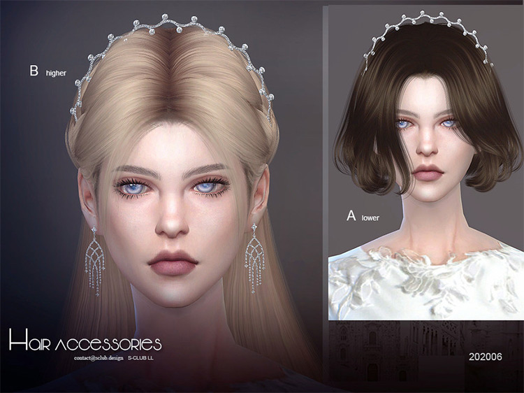S-Club Hair Accessory for Sims 4