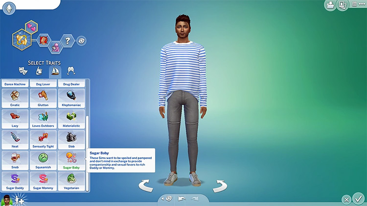 Sugar Life Mod Sims 4 CC screenshot