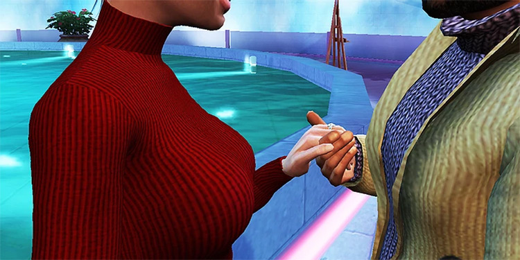 Sugar Baby Career Mod for Sims 4
