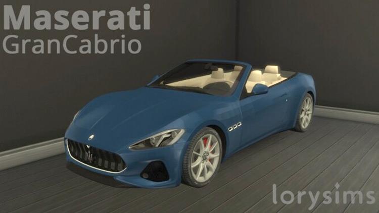 Maserati Convertible Sims 4 CC