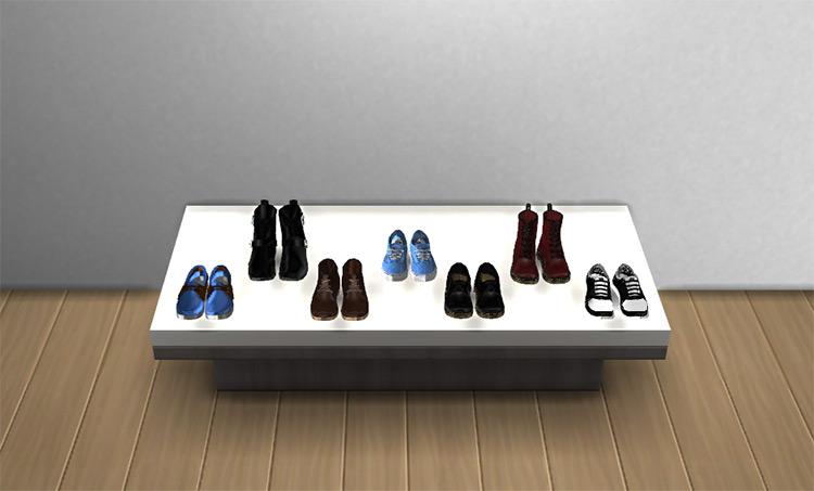 Shoe Platform Sims 4 CC