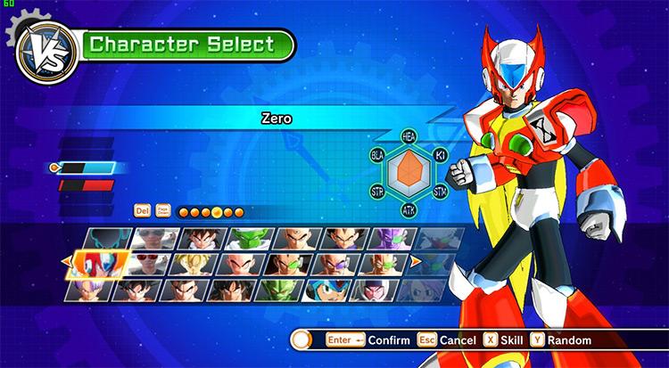 Zero Mod for Xenoverse 1