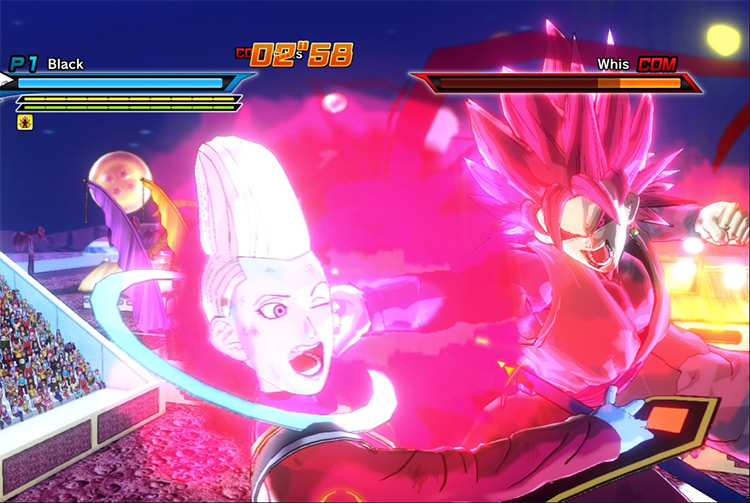 Black Rose Punch in Xenoverse 1