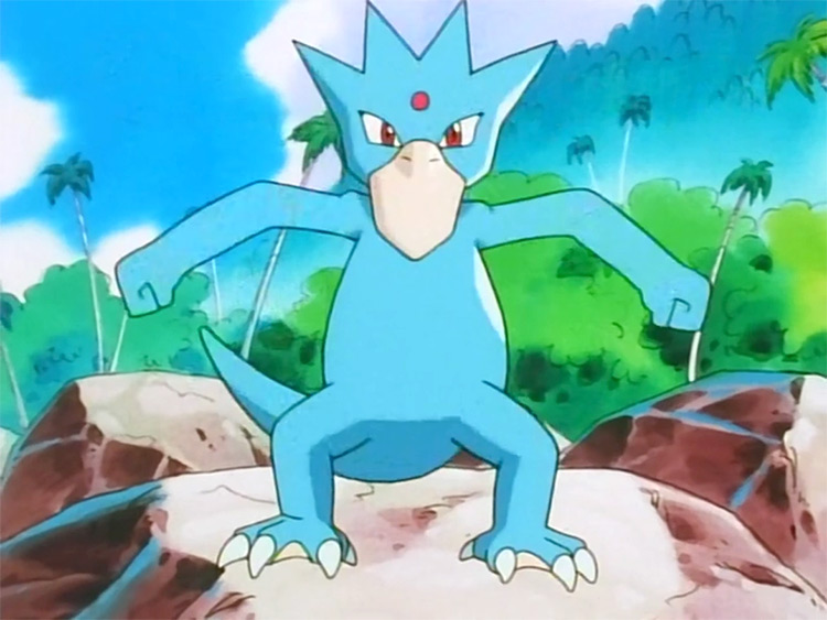 Golduck from Pokemon anime
