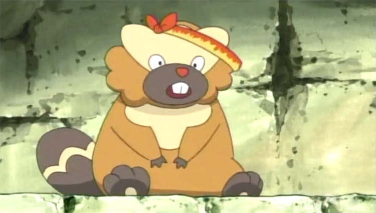 Bibarel Pokemon anime screenshot