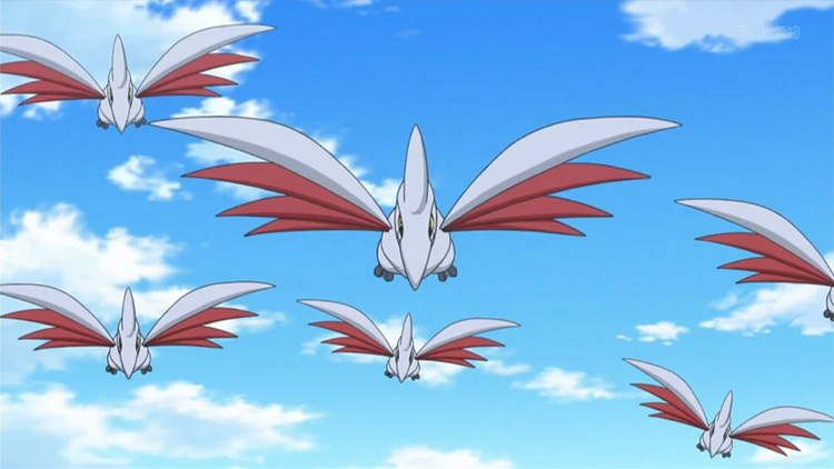 Skarmory from Pokemon anime