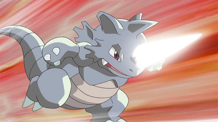 Rhydon from Pokemon anime