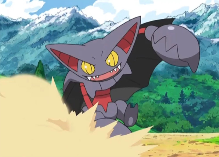 Gliscor dual-type Pokemon in the anime