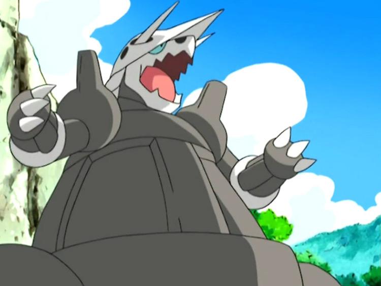 Aggron from Pokemon anime