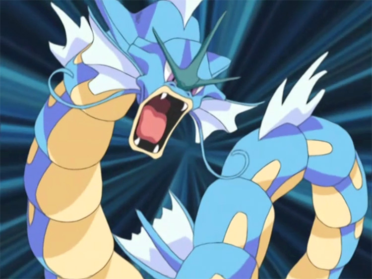 Gyarados from Pokemon anime