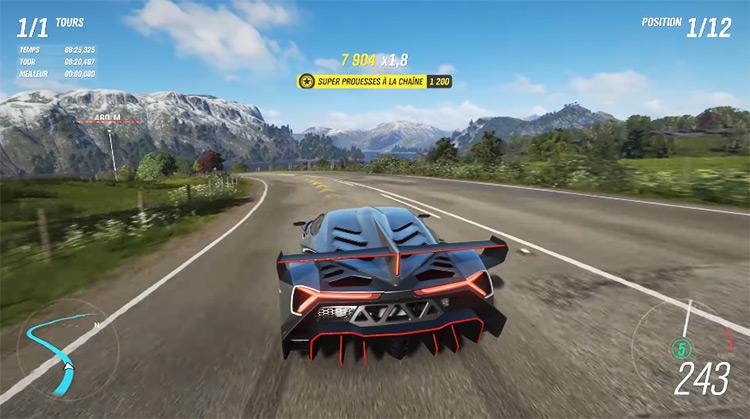 Lamborghini Veneno in Forza Horizon 4