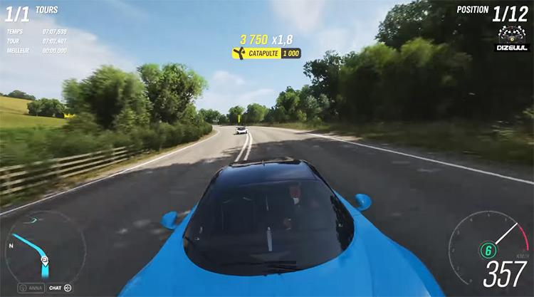 2018 Bugatti Chiron car in FH4