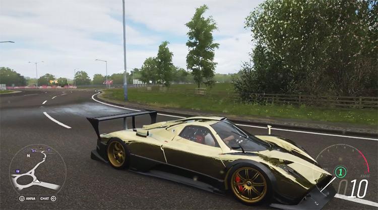 Pagani Zonda Forza Edition in FH4