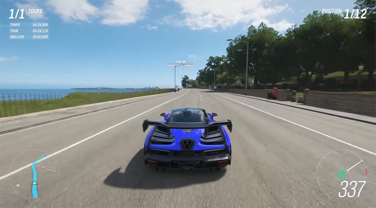 2018 McLaren Senna in Forza Horizon 4