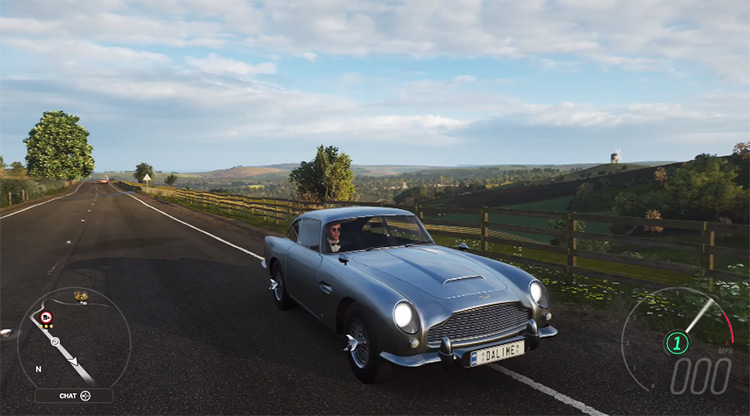 1964 James Bond Edition Aston Martin DB5 in FH4