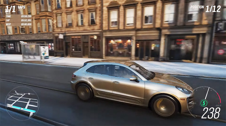 Porsche Macan Turbo 2015 in Forza Horizon 4