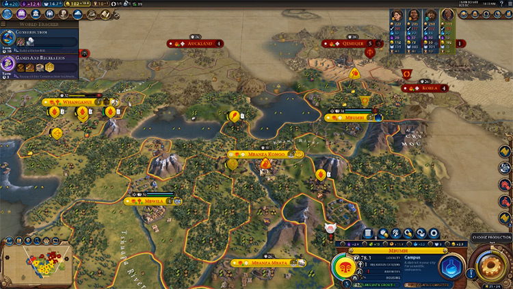 Divine Spark Civilization 6 Pantheon screenshot