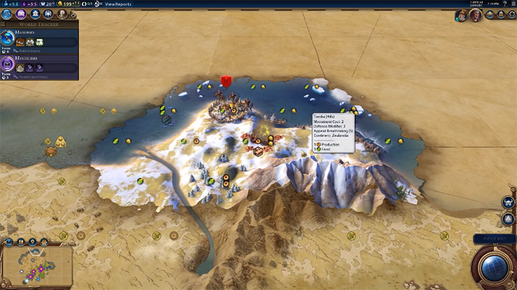 Desert Folklore in Civilization 6