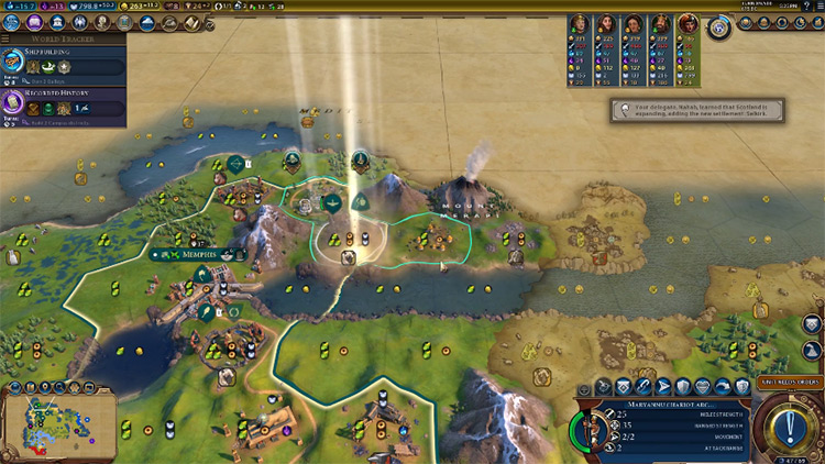 Oral Tradition Pantheon in Civ6