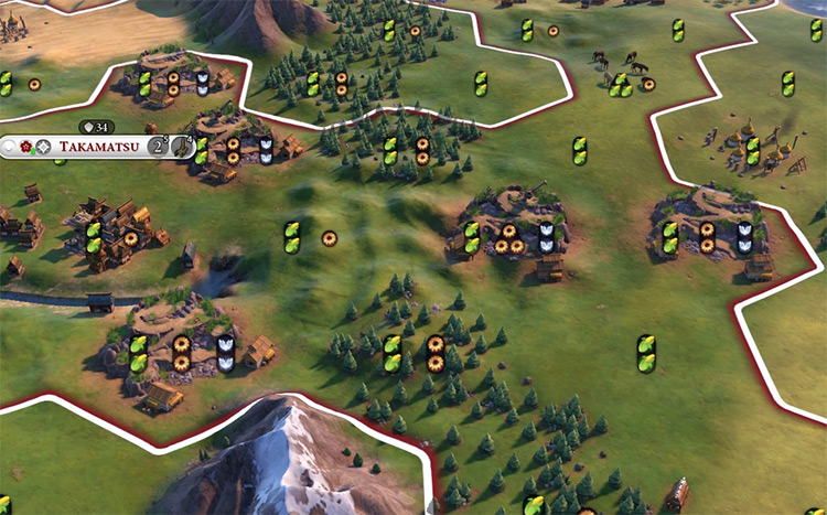Stone Circles Pantheon in Civ6